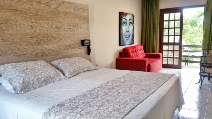 Suite at Hotel Saint Germain, Florianópolis - Are you looking for an affordable yet relaxing hotel in Florianópolis, Brazil? Check out our Florianópolis hotel review of Hotel Saint Germain, located on the lake in Lagoa da Conceicão!