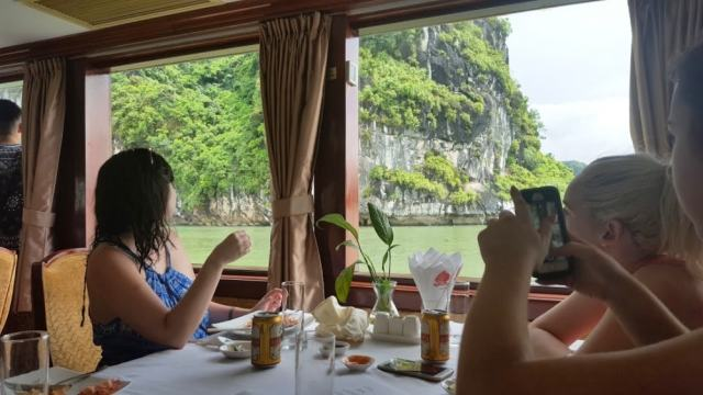 Lunch with the view of Halong - Bay Essential Vietnam Travel Tips You Need To Know Before Visiting
