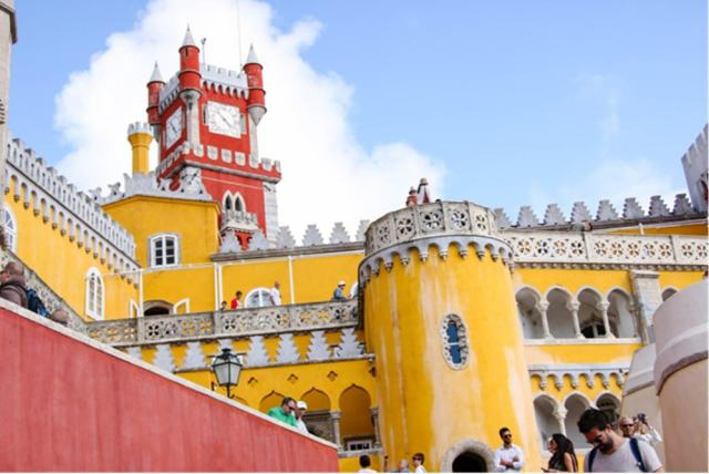 Pena Palace in Sintra - How to travel more