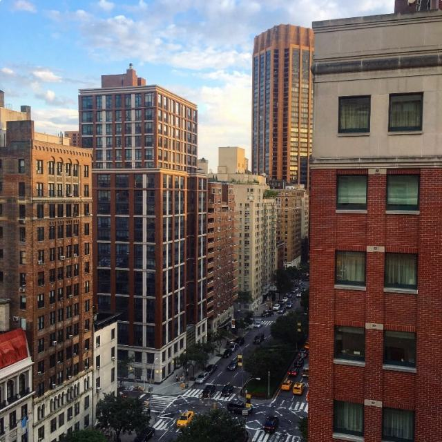 Park Avenue from our hotel - New York travel tips