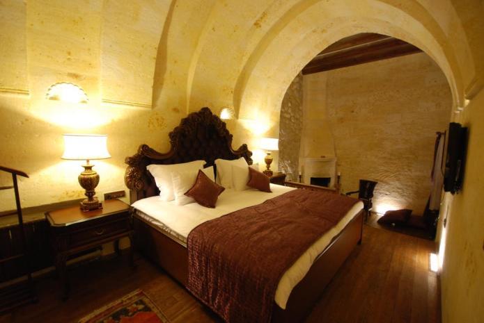 Cave hotels in Cappadocia Aithra
