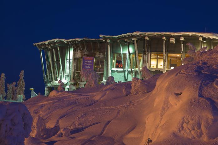 Northern lights hotel Iso Syote