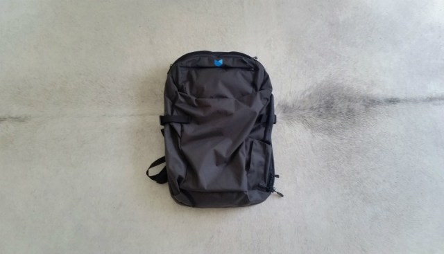 Best bag for digital nomads - Minaal Carry-on 2.0 bag review: front view