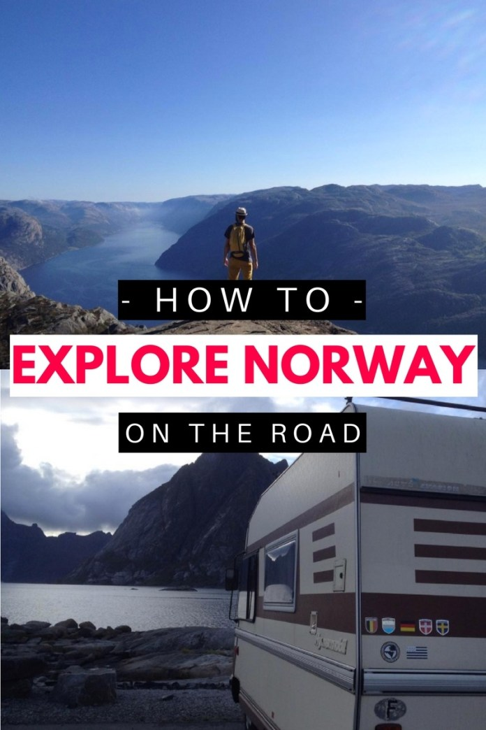 Norway road trip anyone? This couple explored Norway's beautiful mountains, deep fjords & incredible natural wonders and in their motorhome and are now sharing their best travel tips! Come take a looksie! (click through to read)