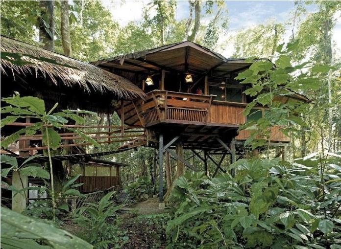Treehouse hotels: Tree House Lodge Costa Rica