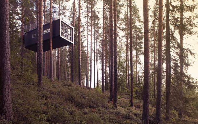 treehouse hotels treehotel