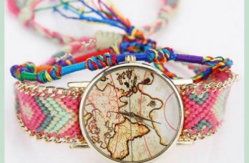 Voyager world map watch background storyv travel lifestyle beachcomber world map watch available in black blue pink purple and rose on gumiabroncs Gallery