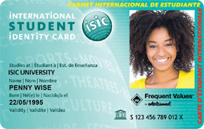 The ISIC Card: Studying in Europe