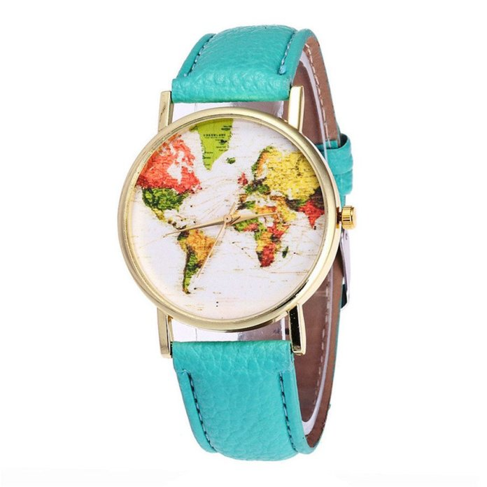 Joyride World Map Watch - Summer Travel Gifts For Female Travelers