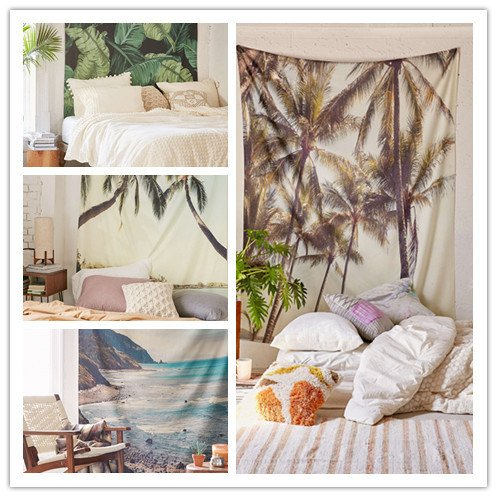 Bohemia Tropical Wall Hanging - Summer Travel Gifts For Female Travelers