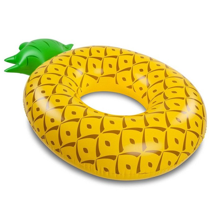 Tropical Pineapple Pool Inflatable - Summer Travel Gifts For Female Travelers