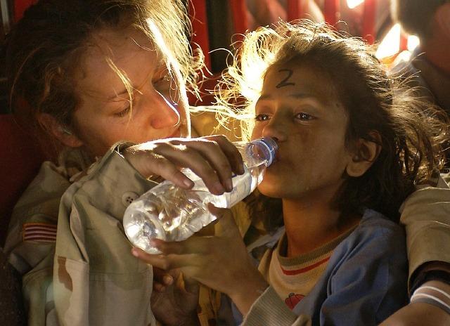 Best travel jobs - Humanitarian aid worker