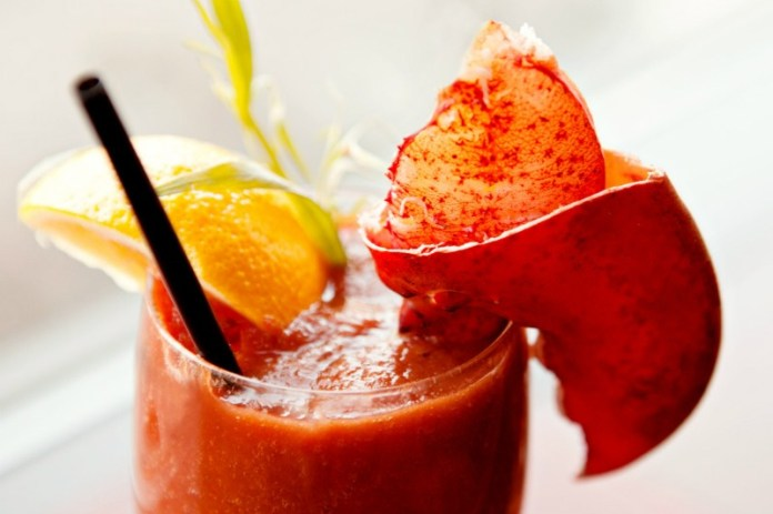 Take your Bloody Mary with a dash of Maine lobster