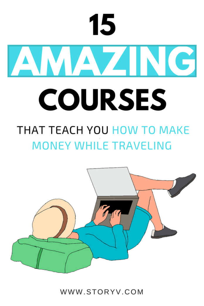 Want to get paid while traveling? Well you can! These 15 epic travel job courses will teach you the right skills to make good money while seeing the world!