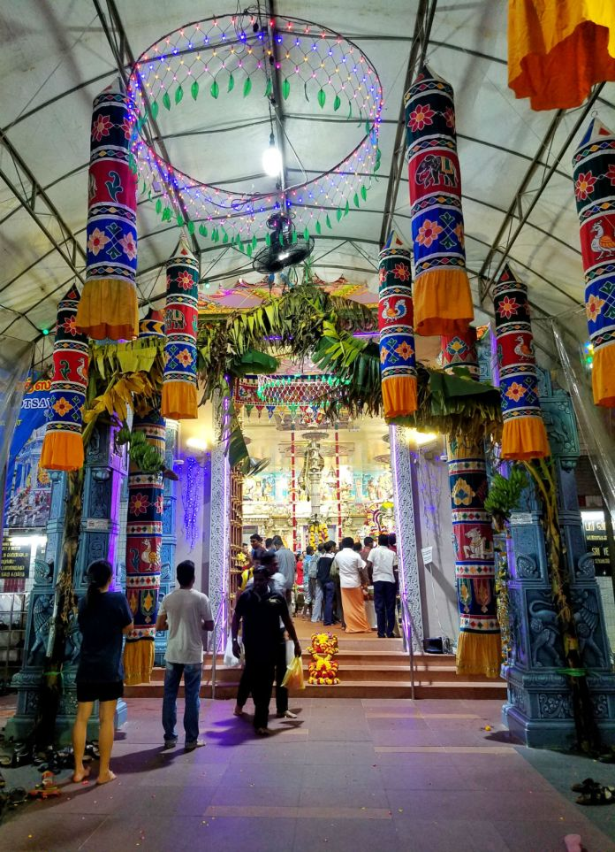 48 hour Singapore travel itinerary: A temple in Little India