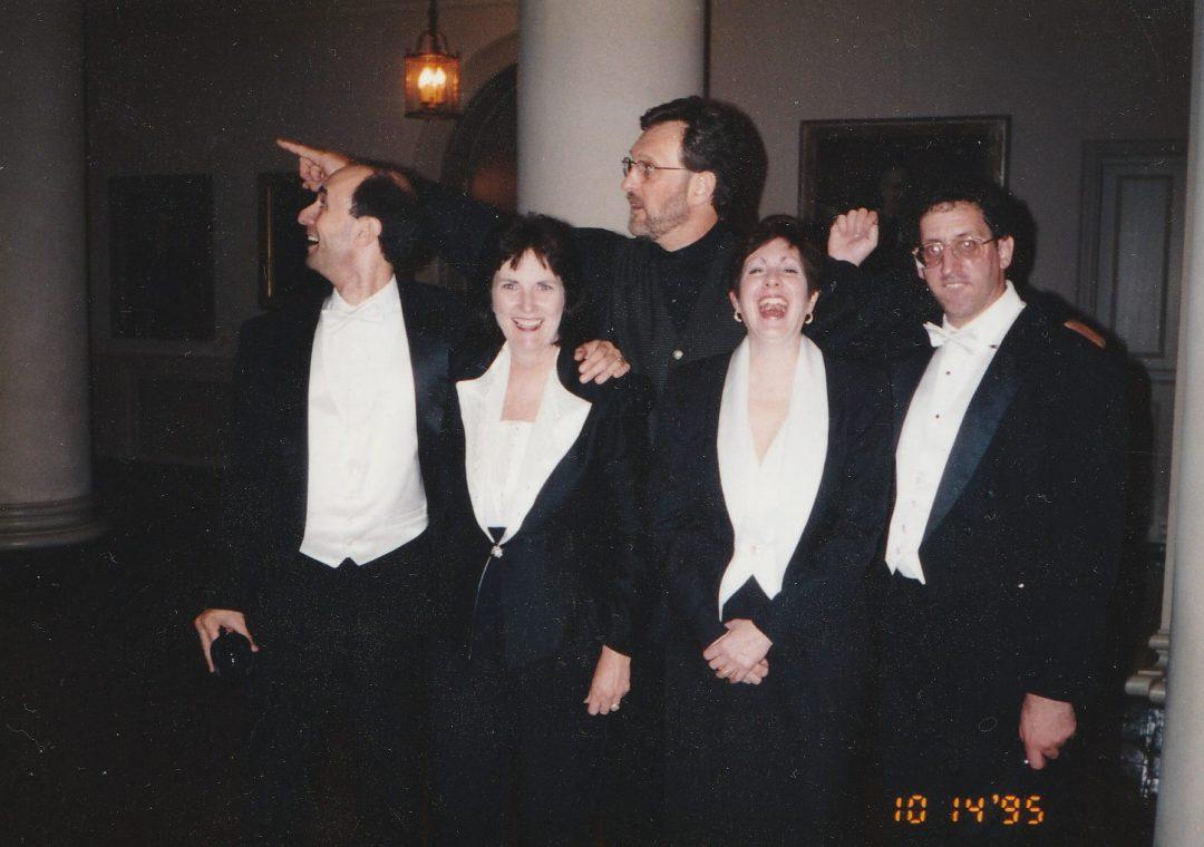 Connie, Mike Reid and the Kandinsky Trio