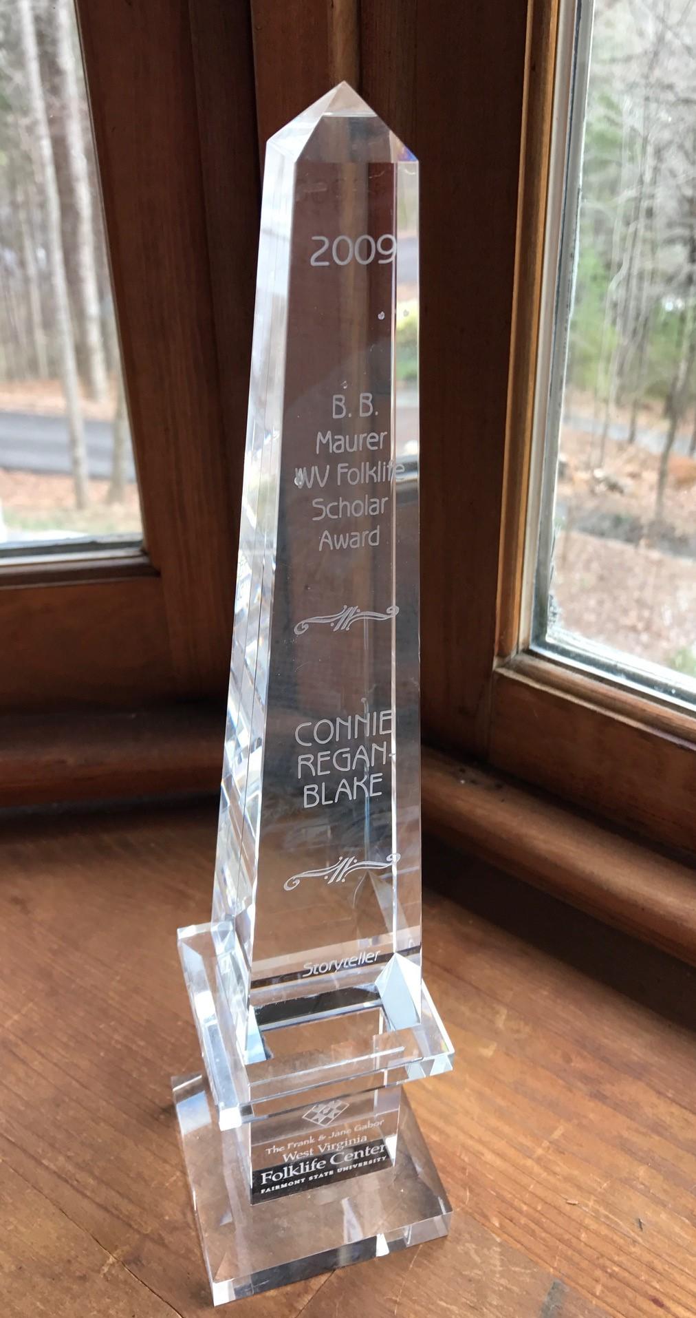 Awards, Folklife Scholar