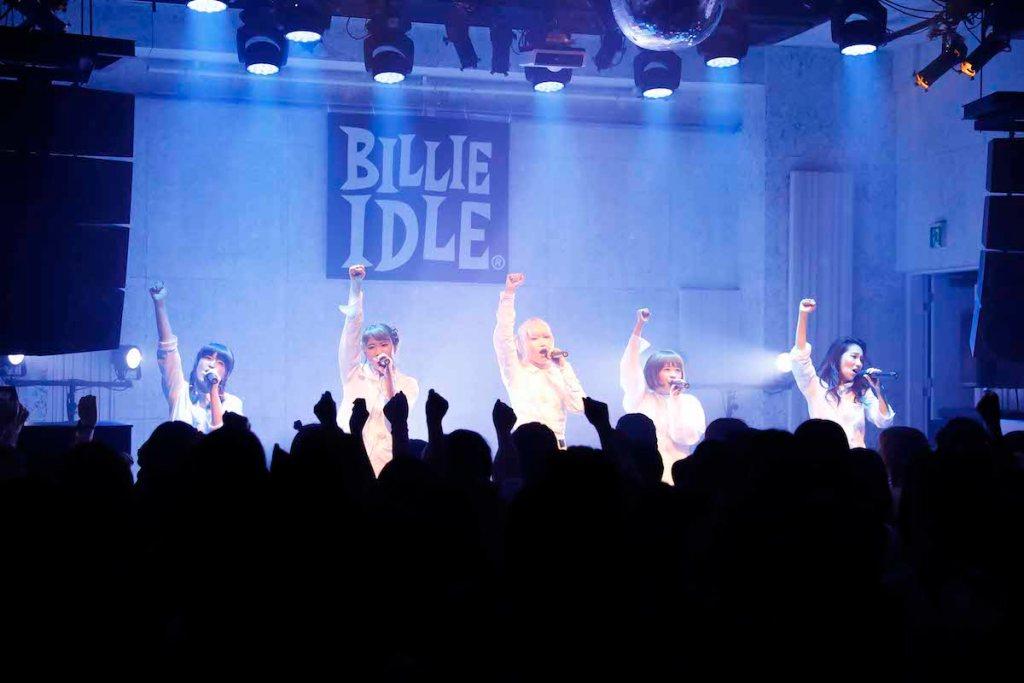 BILLIE IDLE、11月にニュー・アルバム発売決定