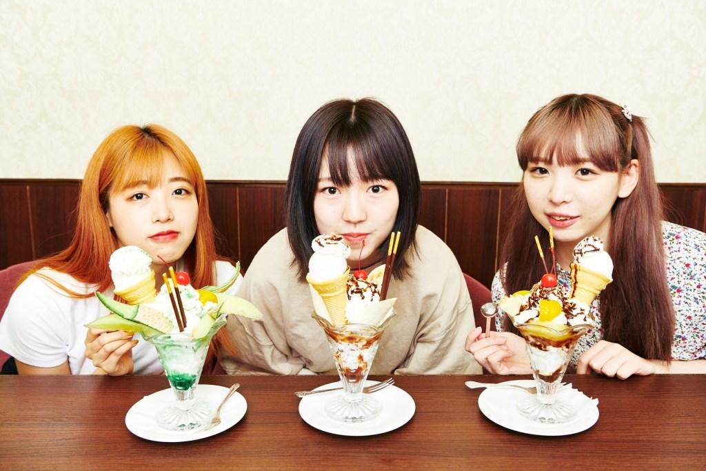 【INTERVIEW】カイ、朝倉みずほ、寿々木ここねが期間限定ユニット結成!? パフェ食べながら構想語る