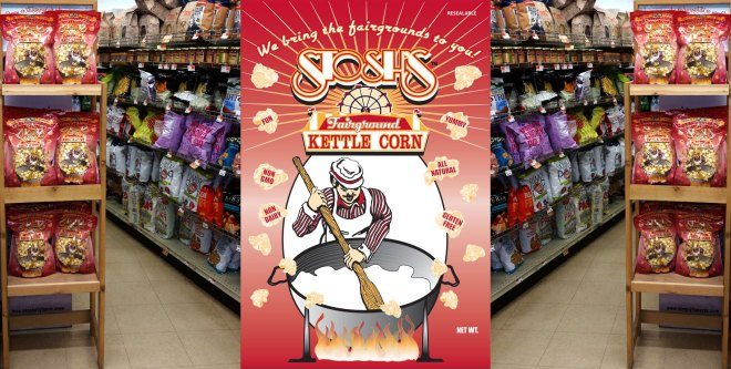 See Our Kettle Corn in the Davis IGA!