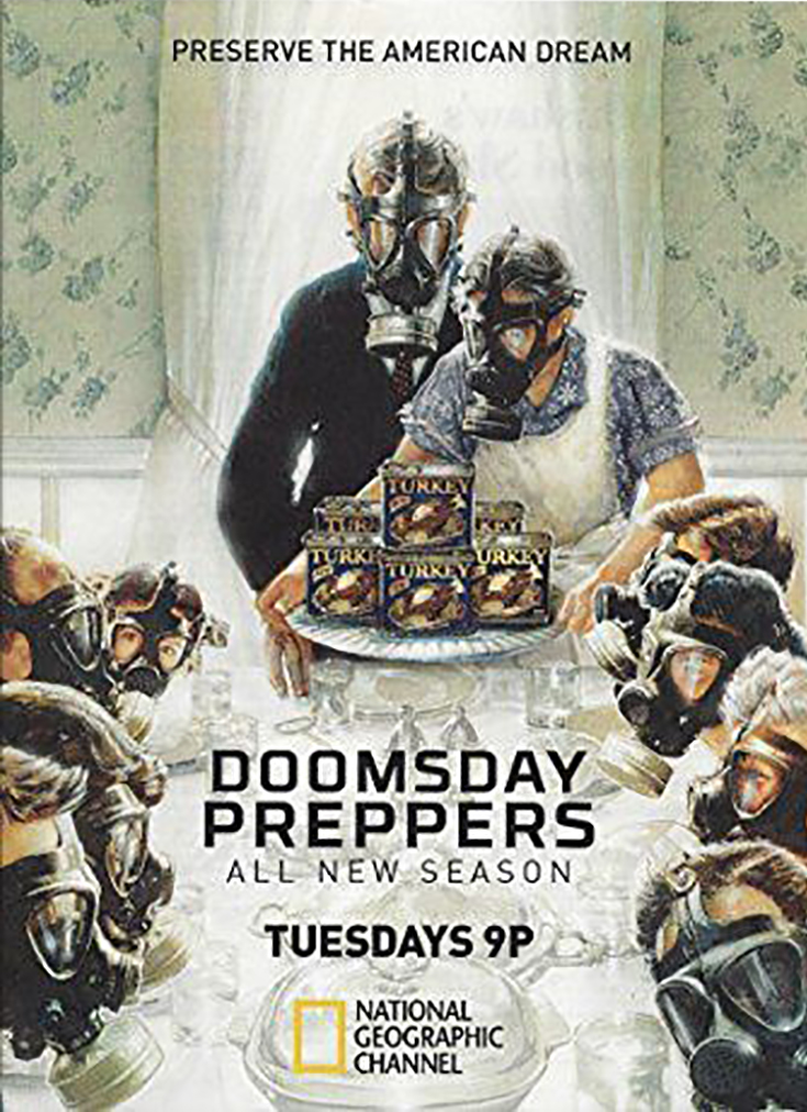 DoomsdayPreppers-Norman-Rockwell