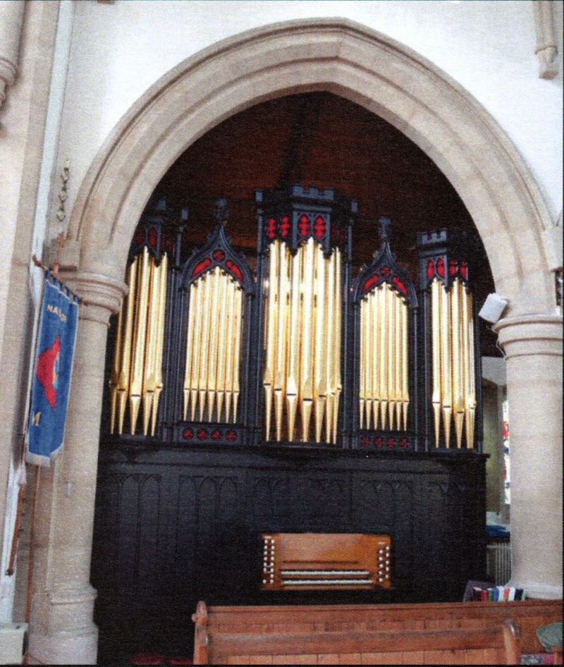 St John's church organ