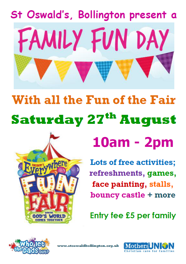 Family Fun Day – 27 August 2016