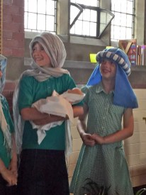 Baby Moses and his birth family