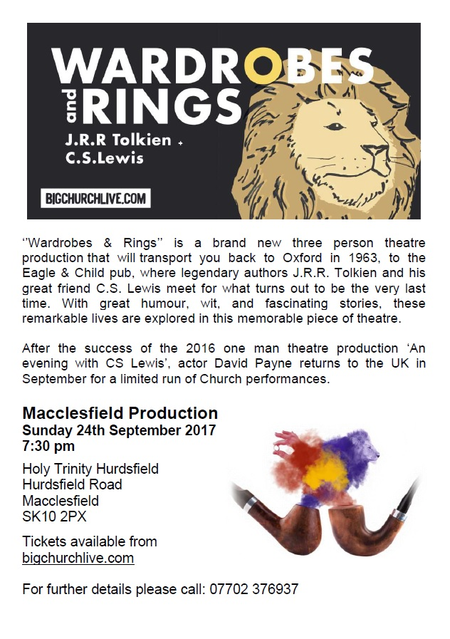Coming up at Holy Trinity Hurdsfield