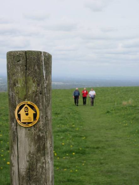 The Gritstone Trail!