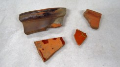 Pottery sherds from the fsecond bag of SU 1213