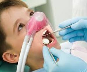 Laughing gas or nitrous oxide sedation