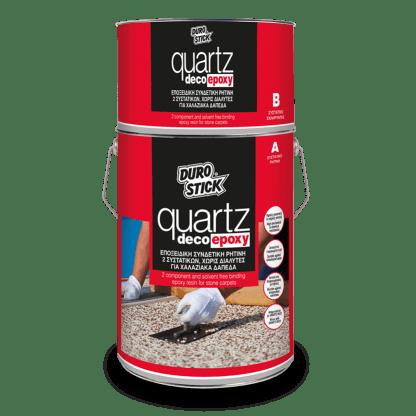 Durostick Quartz Deco Epoxy 2,5kg(Α 1.600gr + Β 900gr)