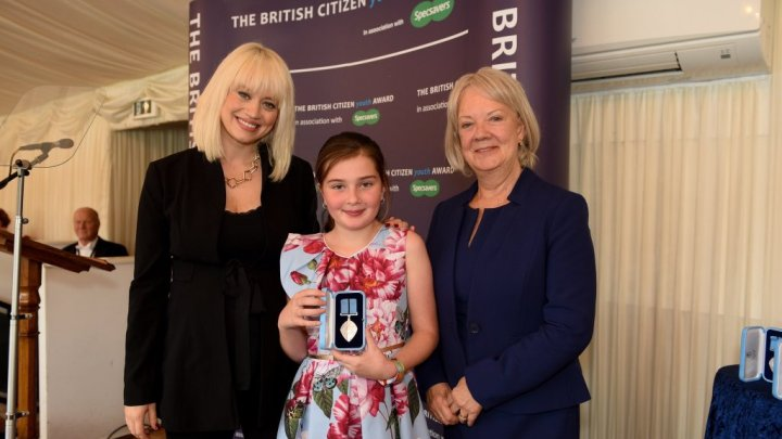Chloe was 'honoured with a British Citizen Youth Award (BCyA)' and was not a 'winner', the British Citizen Youth Award (BCyA) is a recognition programme and not a competition