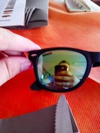 12:58 - Selfie in der Sonnenbrille B-)
