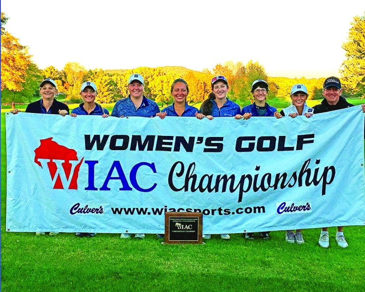 On October 9th, the women's golf team captured their third conference title in the last five years.