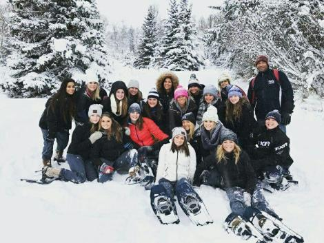 The UW–Stout Gymnastics team traveled to Anchorage, Alaska for two meets on January 20 and 23.