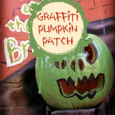 Teen Project: Pumpkin Patch Goes Graffiti