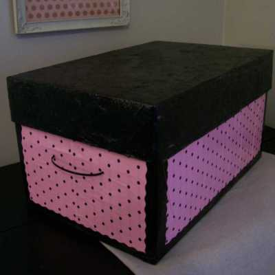 Wrapping Paper Keepsake Box