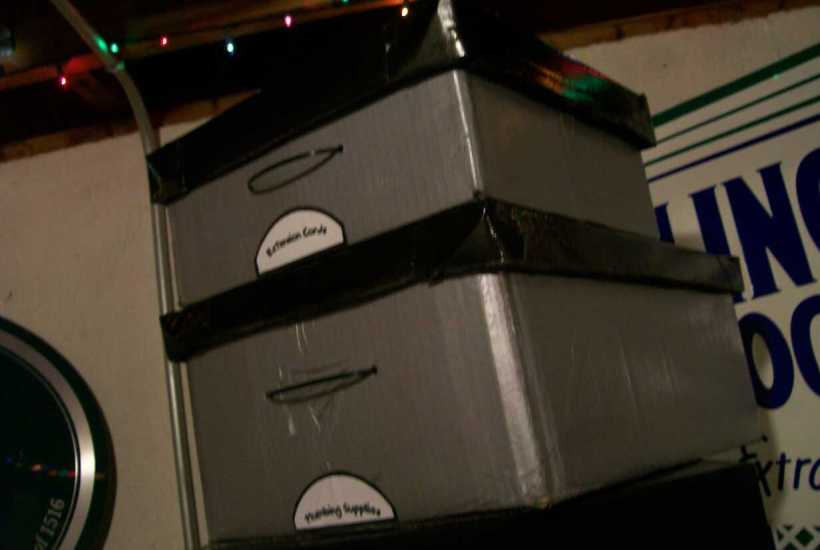 basic tutorial on diy storage box with lid for the man cave