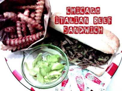 Easy crock pot recipe for Chicago style Italian beef from StowandTellU.com