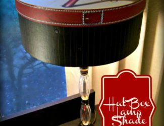 Hat Box Lamp Shade-StowandTellu.com