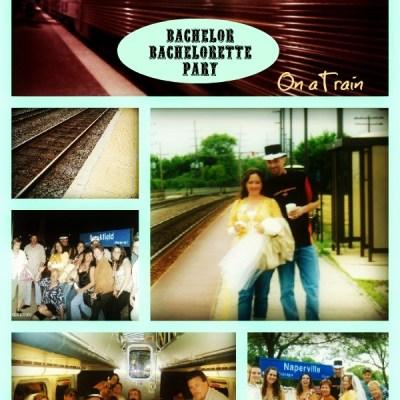 Whistle Stop Bachelor Bachelorette Party on a Train