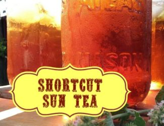 Shortcut Sun Tea - StowandTellU
