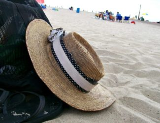 Washi tape beach hat-Stowandtellu