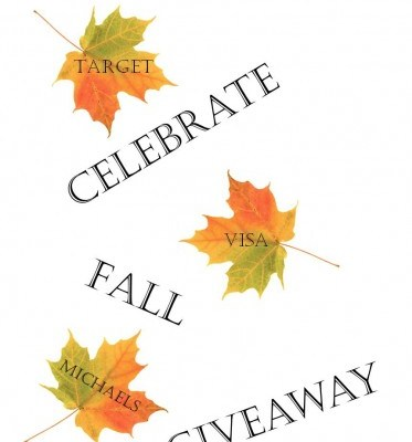 Celebrate Fall One More Time $300.00 Gift Card Giveaway