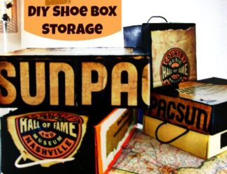 Souvenir and Boutique Bag Shoe Box StorageBox Storage-StowandTellU