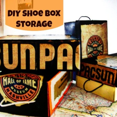 Souvenir Bag Shoe Box Storage