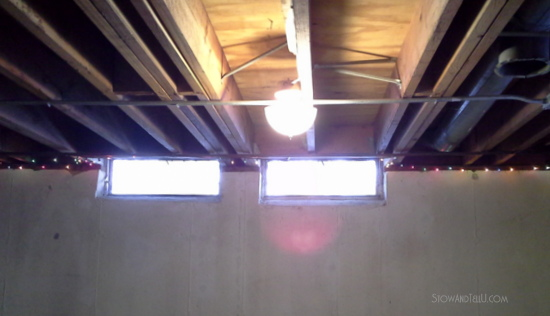 prepare open beam ceiling for painting