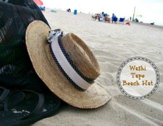 washi-tape-beach-hat